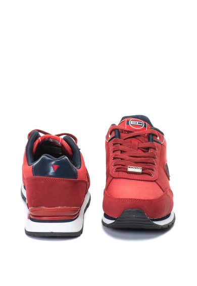 Enrico Coveri Pantofi sport de piele ecologica cu logo Bangor Barbati