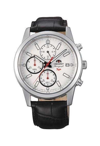 ORIENT Часовник с кожена каишка и хронометър Мъже