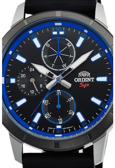 ORIENT Мултифункционален часовник с гумена каишка Мъже