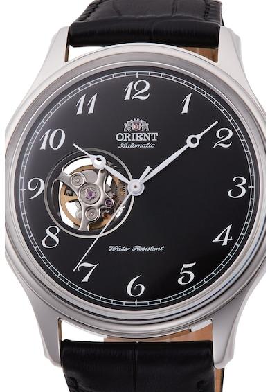 ORIENT Автоматичен часовник с кожена каишка Мъже