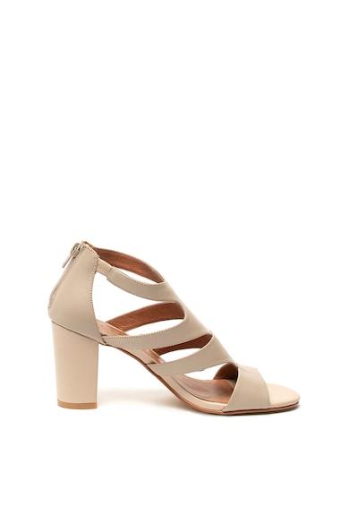 Zee Lane Sandale de piele, cu fermoar Femei