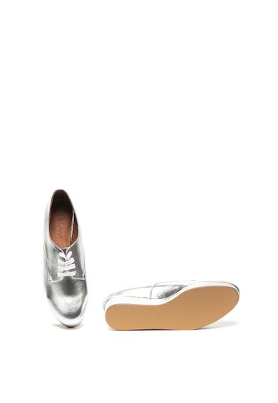 Zee Lane Pantofi derby wedge de piele Femei