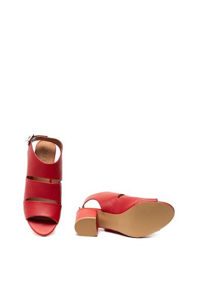 Zee Lane Sandale slingback de piele, cu toc masiv Femei