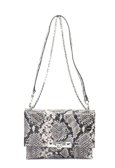 Aldo Abilaniel hüllőbőr mintás keresztpántos műbőr táska női