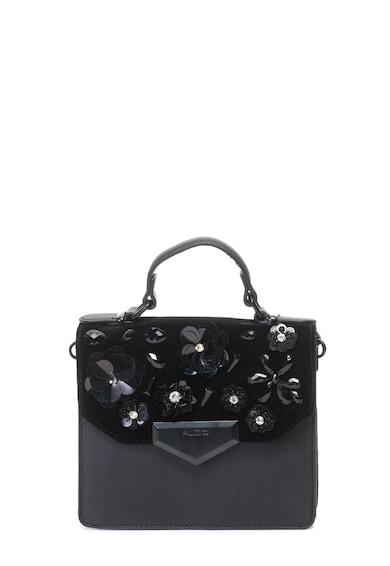 Aldo Passirano keresztpántos táska strasszkövekkel és flitterekkel női