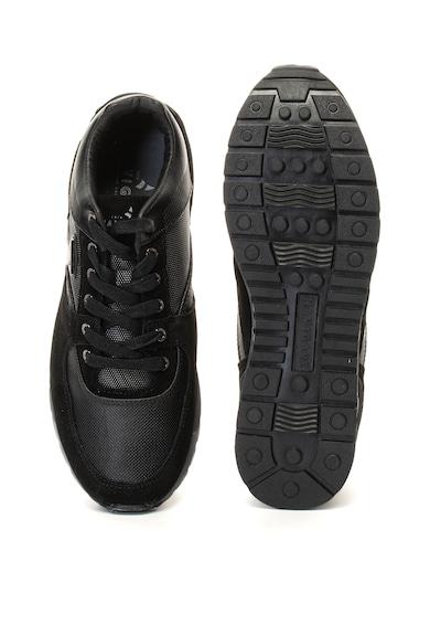 Navigare Pantofi sport cu garnituri de piele intoarsa Fiorino Barbati