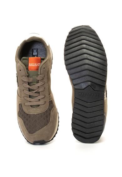 Navigare Pantofi sport cu garnituri de piele intoarsa Vlady Barbati