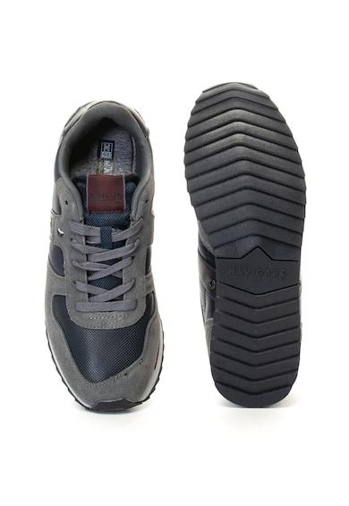 Navigare Pantofi sport cu garnituri de piele intoarsa Remi Barbati