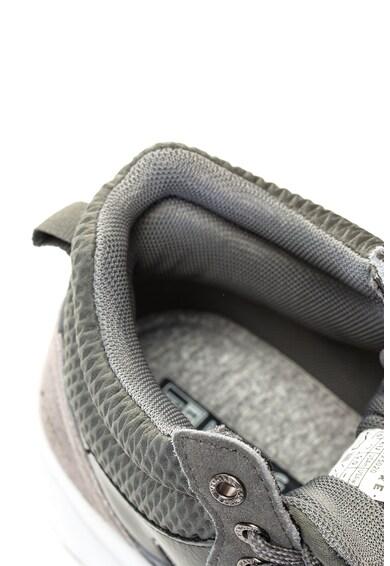 Navigare Pantofi sport high-top cu garnituri de piele intoarsa Barbati
