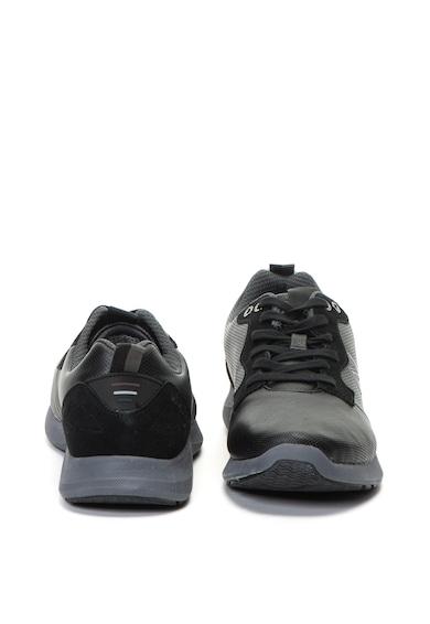 Navigare Pantofi sport de piele ecologica cu garnituri de piele intoarsa Kato Barbati