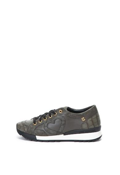 Love Moschino Спортни обувки от еко кожа с шагрен Жени