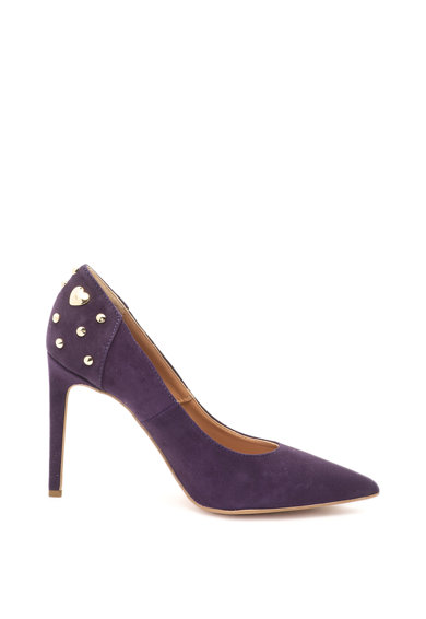 Love Moschino Велурени обувки с остър връх Жени