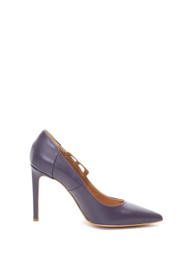 Love Moschino Кожени обувки с висок ток Жени