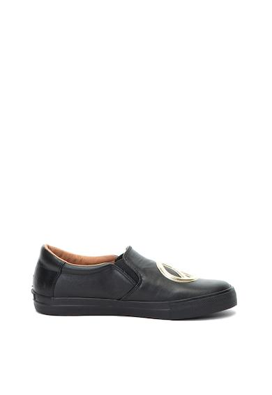 Love Moschino Обувки от еко кожа с декоративни апликации Жени
