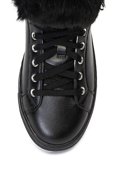 Pollini Спортни обувки от еко кожа с пух Жени