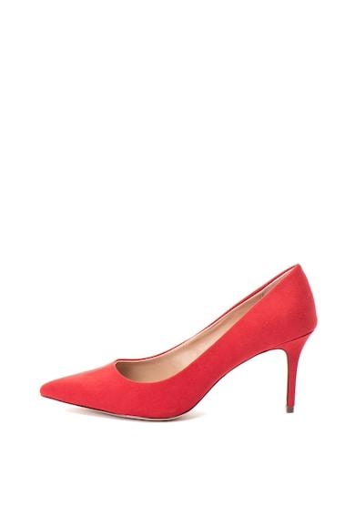 Call It Spring Pantofi cu toc de piele intoarsa ecologica Fririen Femei