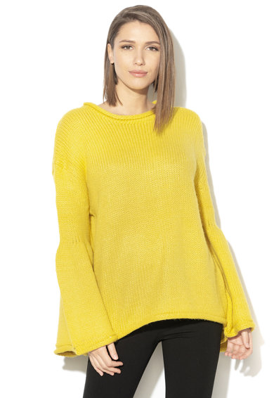 Silvian Heach Collection Pulover tricotat cu paiete Negrals Femei