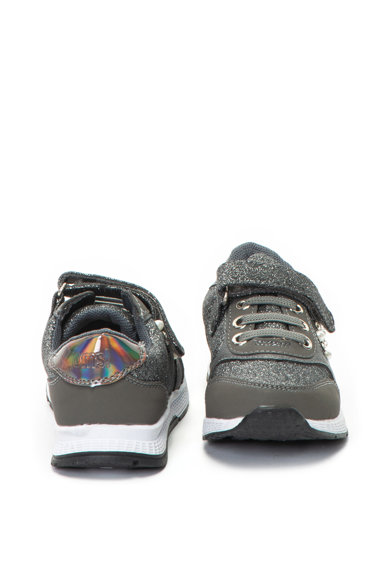 OMS by Original Marines Бляскави спортни обувки с велкро Момчета