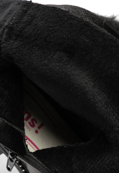 OMS by Original Marines Ghete de piele ecologica si material textil cu garnitura de blana sintetica Fete