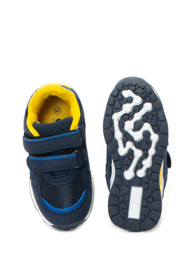 OMS by Original Marines Pantofi sport de piele ecologica, cu velcro Baieti