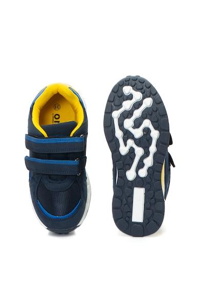 OMS by Original Marines Pantofi sport cu velcro si insertii de plasa Baieti