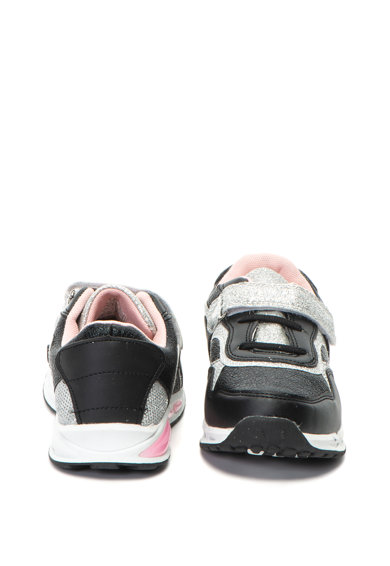 OMS by Original Marines Pantofi sport de piele ecologica, cu aspect stralucitor Baieti