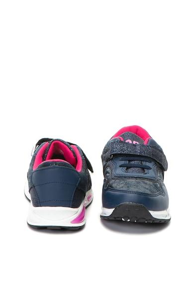 OMS by Original Marines Pantofi sport de piele ecologica, cu aspect lucios Baieti
