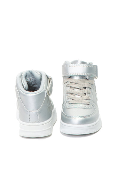 OMS by Original Marines Pantofi sport mid-high de piele ecologica Baieti