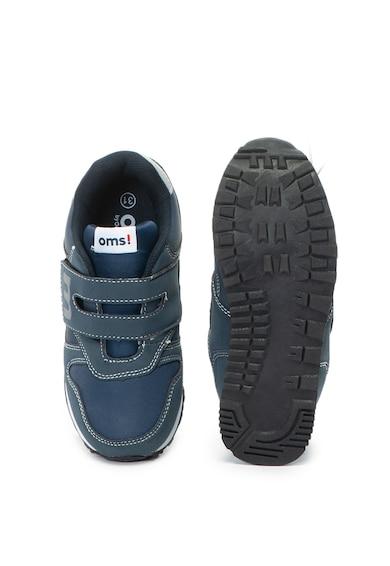 OMS by Original Marines Pantofi sport de piele ecologica si material textil Baieti