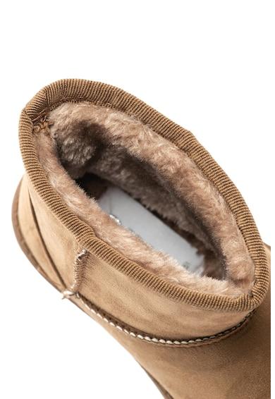 OMS by Original Marines Ghete de material textil cu captuseala din material calduros Baieti