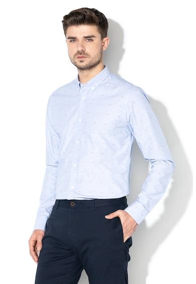 Scotch & Soda Риза с бродерии и стандартна кройка Мъже