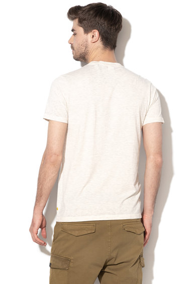 Scotch & Soda Tricou de plaja, cu imprimeu logo Barbati