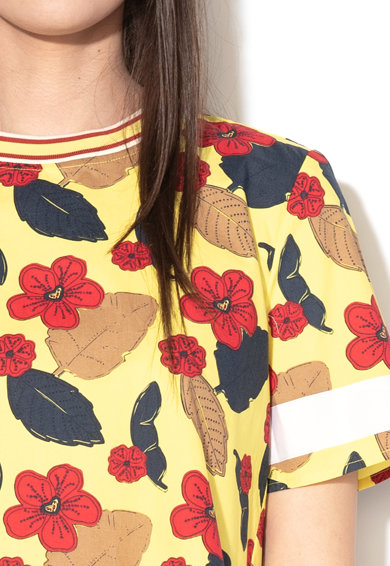 Maison Scotch Bluza lejera cu imprimeu floral Femei