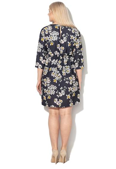 PERSONA BY MARINA RINALDI Разкроена рокля Delia с флорален десен Жени