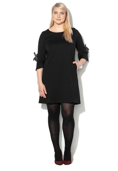 PERSONA BY MARINA RINALDI Права рокля Ocra с набрани маншети Жени