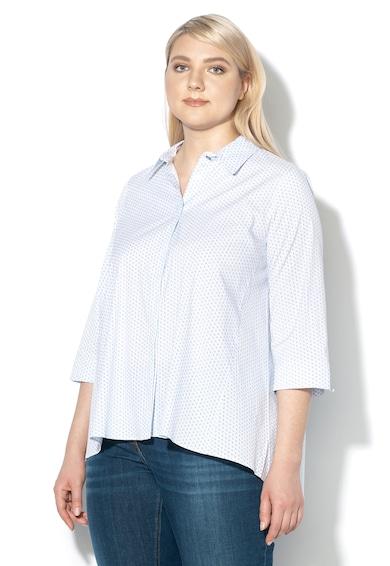 PERSONA BY MARINA RINALDI Camasa cu model si maneci 3/4 Balsa Femei