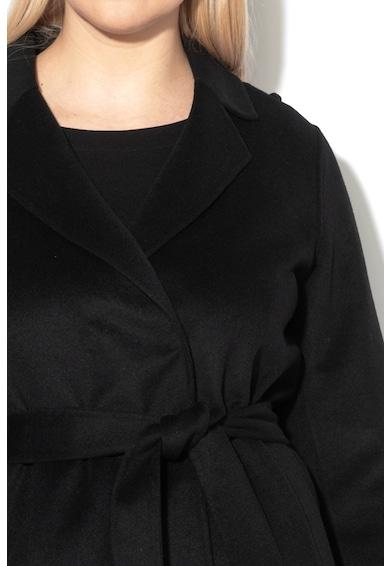PERSONA BY MARINA RINALDI Haina din amestec de lana cu cordon in talie Tartina Femei