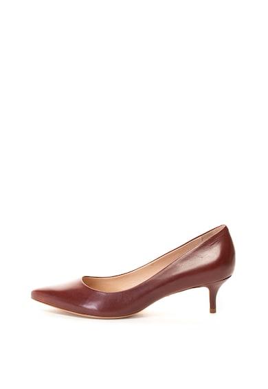 Schutz Кожени обувки с котешки ток Жени