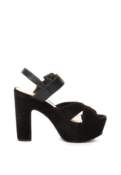 Schutz Sandale din piele nabuc Alto Femei