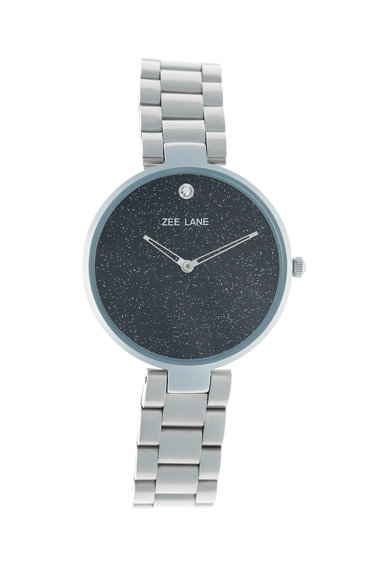 Zee Lane Ceas quartz cu particule stralucitoare pe cadran Femei