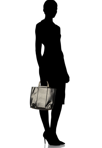 Zee Lane Bőr tote fazonú táska kivehető belső kistáskával női