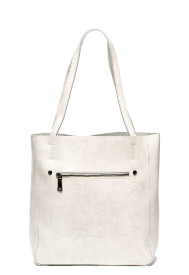 Zee Lane Bőr tote fazonú táska női