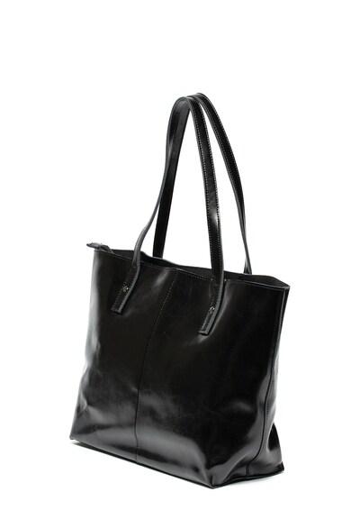 Zee Lane Bőr shopper fazonú táska szegecsekkel női