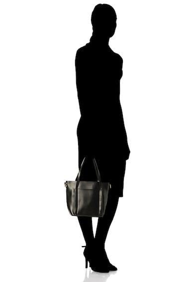 Zee Lane Geanta de piele cu bareta de umar si etui interior detasabil Femei