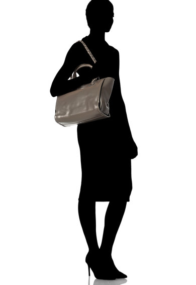 Zee Lane Geanta de piele cu bareta pentru umar Femei