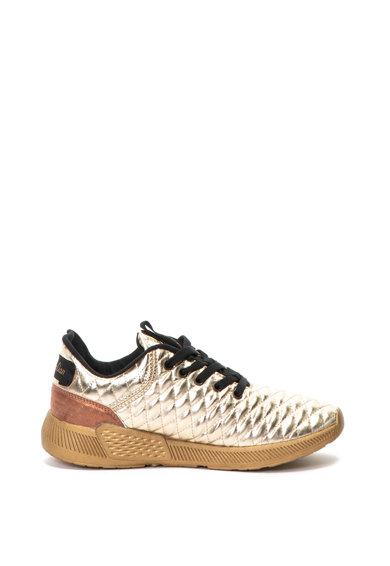 Australian Pantofi sport cu aspect matlasat si metalizat Femei