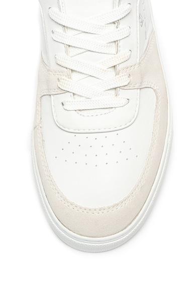 Gant Pantofi sport de piele cu garnituri cu aspect de piele intoarsa Denver Barbati