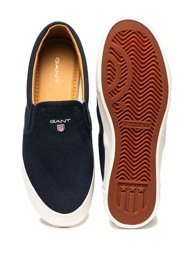 Gant Pantofi slip-on cu broderie logo Hero Barbati