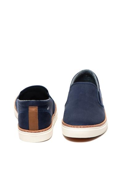 Gant Bari vászon bebújós cipő bőrszegéllyel férfi