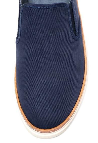 Gant Bari bebújós vászoncipő bőrszegéllyel férfi